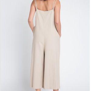 Anemone Pants - ANEMONE CARLY LINEN JUMPSUIT